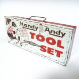 """Handy Andy Tool Box"" ブリキ缶"